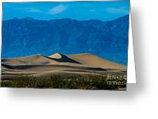 The Mesquite Dunes Greeting Card