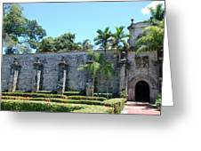 The Miami Monastery Greeting Card