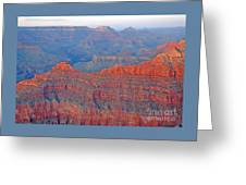 The Mighty Grand Canyon Greeting Card