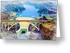 The Mike O'callaghan Pat Tillman Memorial Bridge Greeting Card