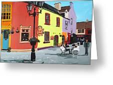 The Milk Market, Kinsale Greeting Card