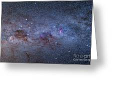 The Milky Way Through Carina And Crux Greeting Card