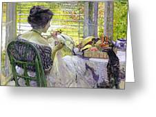 The Milliner Greeting Card