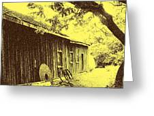 The Millwrights Shed Greeting Card