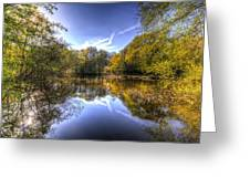 The Mirror Pond Greeting Card