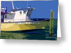 The Miss Pass A Grille Greeting Card