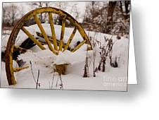 The Missing Wheel Greeting Card