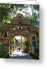 The Mission Inn Entrance Greeting Card