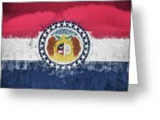The Missouri Flag Greeting Card