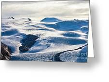 The Monte Rosa Glacier In Switzerland Greeting Card