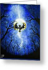 the moon of Lunala Greeting Card