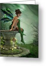 The Moonlight Fairy Greeting Card