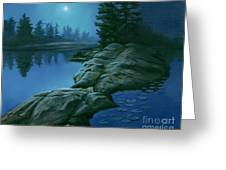 The Moonlight Hour Greeting Card