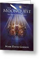 The Moonquest Book Cover Greeting Card