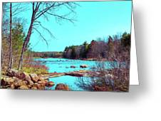 The Moose River At Lyonsdale Greeting Card