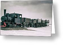 The Most Northern Train? Greeting Card by James Billings
