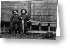 The Mott Street Boys Greeting Card