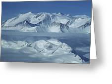The Mount Vinson Massif 16, 059 Greeting Card