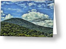 The Mountain Meets The Sky Greeting Card