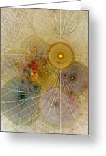The Mourning Of Persephone - Fractal Art Greeting Card
