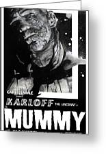 The Mummy 1932 Movie Poster  Greeting Card