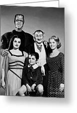 The Munster Family Portrait Greeting Card