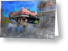 The Muriel's Of Jackson Square  Greeting Card