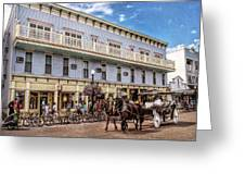 The Murray Hotel At Mackinac Island Greeting Card