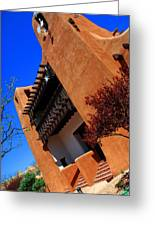 The Museum Of Art In Santa Fe Greeting Card