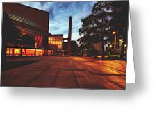 The Myerson Symphony Center - Dallas, Texas Greeting Card
