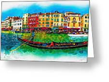 The Mystique Of Italy Greeting Card
