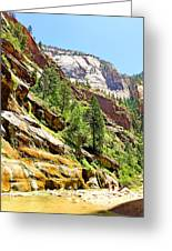 The Narrows Study 1 Greeting Card