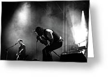 The National Performing At Hyde Park London Greeting Card