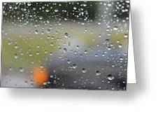 The Natural Lens That Is A Raindrop Greeting Card