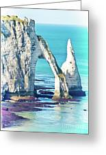 The Needle Of Etretat Greeting Card