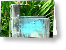 The Neighborhood Water Pipe Greeting Card