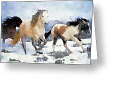 The Nevada Herd Greeting Card