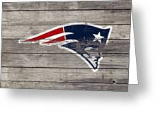 The New England Patriots 3c Greeting Card