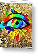 The New Eye Of Horus Greeting Card