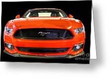 The New Mustang Greeting Card