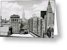 The New York Skyline Greeting Card