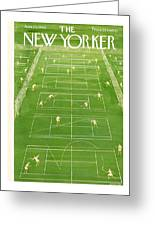 New Yorker Cover - June 25th, 1960 Greeting Card