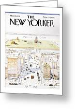 View From 9th Avenue Greeting Card