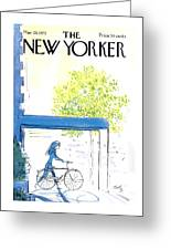 The New Yorker Cover - May 26th, 1973 Greeting Card
