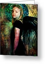 The Night Angel Greeting Card