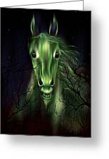 The Night Mare Greeting Card