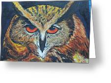 The Night Owl  Greeting Card