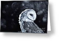 The Night Watcher Greeting Card