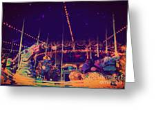 The Nightmare Carousel 22 Greeting Card