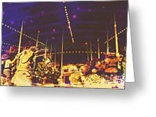 The Nightmare Carousel 7 Greeting Card